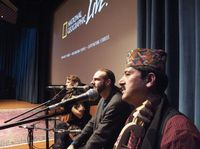 Performing with The Mountain Music Project and Prem Raja Mahat at National Geographic, Washington, DC
