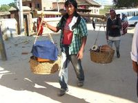 heading to a jam in a village, Kathmandu Valley, Nepal