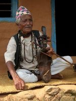 Mohan Gandharba, village musician and shaman