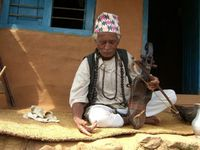 Mohan Gandharba, traditional musician and shaman