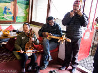 traditional Nepali musicians jamming